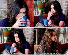 cute, lucy hale, pll, pretty little liars, sparia, spencer hastings, troian bellisario, First Set on Favim.com, aria montgomrey