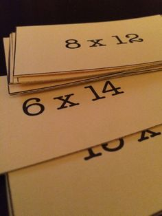 Math Challenge Flash Cards for your students who have already mastered their basic multiplication facts! I found I needed to challenge my 6th grade students who had already learned their multiplication facts with factors 0-9. These multiplication fact cards challenge and stretch students' mental math skills! Great for upper elementary or middle school math classrooms!