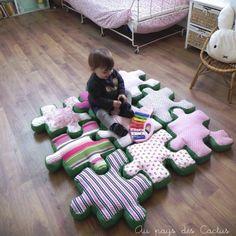 Un puzzle en tissu XXL / Giant fabric jigsaw puzzle