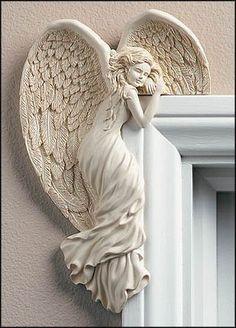 """Angel In Your Corner"" - Left Natural Creative Irish Gifts http://www.amazon.com/dp/B000IZS46Y/ref=cm_sw_r_pi_dp_AF57tb12M3T7Q"