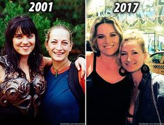 Lucy Lawless & Zoe Bell (Lucy's double on Xena),... | themark_wp