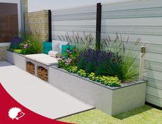 58 Ideas For Backyard Garden Design Layout Shape Stone Patios 58 Ideas For Bac& Garden Care, Garden Mum, Home And Garden, U Element Beton, Im Coming Home, Backyard Garden Design, Outdoor Projects, Garden Styles, Amazing Gardens
