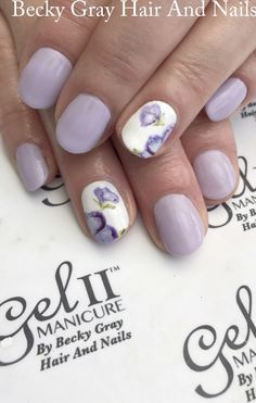 #gel_two #manicure Mary go berry #nailart #handpainted #gelii #nails #showscratch #scratchmagazine