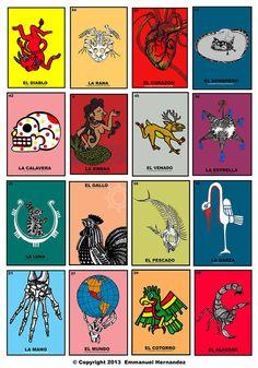 Tabla de la Loteria by Emmanuel Hernandez