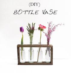 DIY Bottle Vase