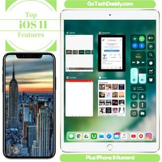 iPhone 8 Rumors has been leaking lately and we at Tech Daddy thought we should share. As a Beta Tester for the new iOS 11, we are going to show you some of the top features of the new update.  Both the iPhone 8 and iOS 11 will be launching this fall.  Check it out! #iPhone8 #iOS11