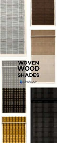 Our Woven Wood Shades collection features complex textures, exotic reeds, grasses, woods, and sophisticated natural colors that will transform your room from dull to striking.