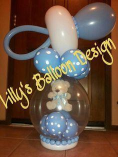 "(gift in a balloon) baby shower balloon ""boy""gift Baby Shower Ballons, Baby Balloon, Balloon Gift, Baby Shower Fun, Baby Shower Cards, Baby Shower Parties, Baby Shower Invitations, Baby Shower Gifts, Balloon Centerpieces"
