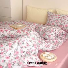 Ever Lasting Green Floral Bedding Set Green Bedding Set | Etsy Orange Bedding, Green Bedding, Floral Bedding, Queen Bedding Sets, Queen Beds, Flat Bed, Bed Sizes, Duvet Covers, Summer Bedroom