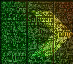 100 portugueses que moldaram o século XX