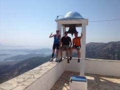 ... to mountain top churches! Lefkas, Greece www.getactivelefkas.com