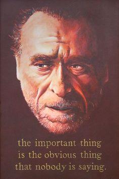 Charles Bukowski - mad genius
