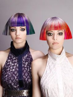 Cool hair & color
