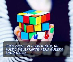 24ab4e13b Amor frases Rubiks Cube Patterns