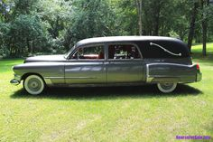 1949 Cadillac Hearse Sayers & Scovill Landau Coach