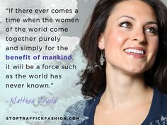 Empower women. Inspire hope. #quotes