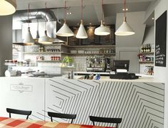 La Petite Bretagne Restaurant Interior design by Paul Crofts Studio