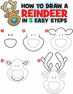 Trendy Ideas for christmas art projects for kids paint how to draw Drawing For Kids, Art For Kids, Crafts For Kids, Drawing Ideas, Drawing Pictures, Christmas Doodles, Kids Christmas, Easy Christmas Drawings, Theme Noel