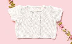 Book Baby 76 Spring / Summer | 6: Baby Jacket | White