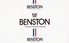 Original outer box for Benston cigarettes