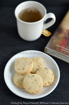 Cumin flavored Salty cookies (egg free)