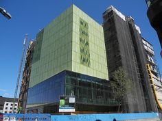 The new Wilder building