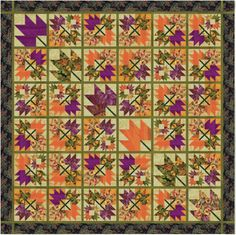 Falling Leaves by Freddy Moran for RJR Fabrics
