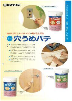 Amazon.co.jp: セメダイン 内外装用 補修 穴うめパテ ポリ容器 200g ホワイト HJ-111: DIY・工具