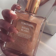 Glowing with Tom Ford shimmering body oil. #shimmering #beauty #beautytips…