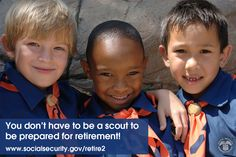 #BePrepared and #PlanForRetirement with #SocialSecurity: http://www.ssa.gov/retire2/