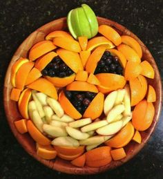Fruit pattern jack o lantern