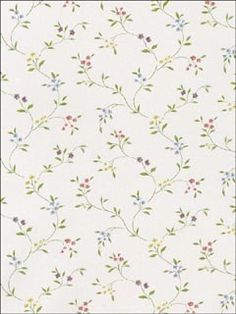 Floral Trail Wallpaper by Norwall Wallpaper. 50 Year Anniversary Sale - Up to off everything extended through June Stranger Things Halloween, Framed Wallpaper, Wallpaper Calculator, Autumn Home, The Fresh, Kitchen And Bath, Pattern Wallpaper, Color Patterns, Home Improvement