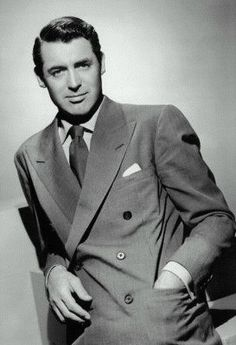 """""""Everybody wants to be Cary Grant. Even I want to be Cary Grant"""" - Cary Grant"""