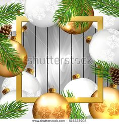 Christmas Background. #christmas #merrychristmas #vector #card #background