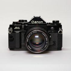 Vintage Canon A-1 Camera