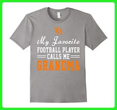 Mens My Favorite Football Player Calls Me Grandma Funny Shirt Small Slate - Sports shirts (*Amazon Partner-Link)