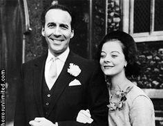 The wedding of Christopher Lee and Birgit Kroencke, 3-17-1961.
