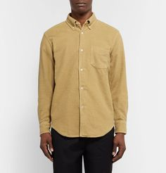 Our Legacy - 1950s Slim-Fit Brushed-Cotton Flannel Shirt