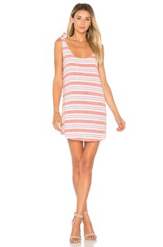 Lovers + Friends Everglades Dress in Berry Stripe   REVOLVE
