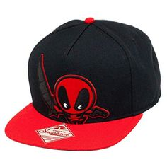 6fd4db539c972 Mavel Kawaii - Deadpool Snapback Hat Size ONE SIZE Deadpool Kawaii