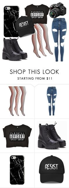 Sin título #7 by thelifexd on Polyvore featuring moda, Topshop, Recover and Nikon