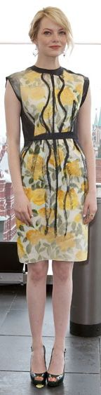 Emma Stone | #EmmaStone #celebrity #ClearSpring #SpringWinter