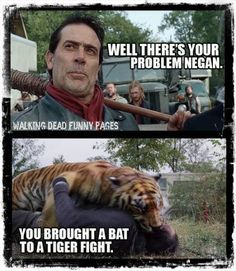 There's your problem, Negan