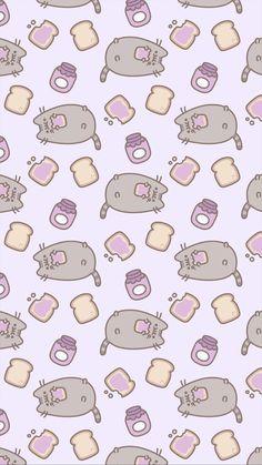 No dudes de visitar mi tablero de fondos de pusheen ;3 Cute Pastel Wallpaper, Cat Wallpaper, Kawaii Wallpaper, Tumblr Wallpaper, Cute Wallpaper Backgrounds, Wallpaper Iphone Cute, Disney Wallpaper, Galaxy Wallpaper, Kawaii Background
