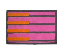 Poggio Rug 160 x 230cm, Pink and Orange Mix