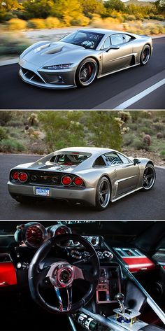 Falcon F7 is American Supercar Powered by 1100HP V8 Engine, Touted as Ferrari Fighter
