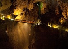 The incredible Škocjan Caves are part of UNESCO's list of natural and cultural world heritage sites