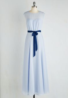 Just Sway the Word Dress in Periwinkle