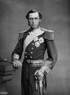 Prince Alfred, Duke of Edinburgh, the second son of Queen Victoria and Prince Albert. Get premium, high resolution news photos at Getty Images