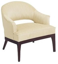 Continental Club Chair - traditional - armchairs - The Hickory Chair Furniture Co. Foyer Furniture, Hickory Furniture, Hickory Chair, Accent Chairs For Sale, Large Family Rooms, Lounge Sofa, Chair Upholstery, Club Chairs, Living Room Chairs